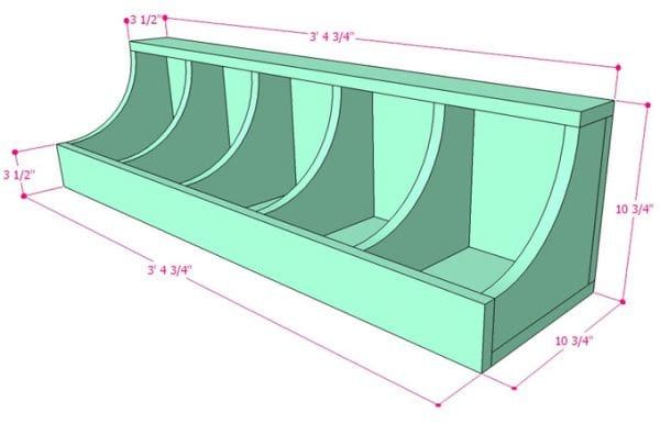 DIY Wall Shelf Building Plan Apieceofrainbow (7)