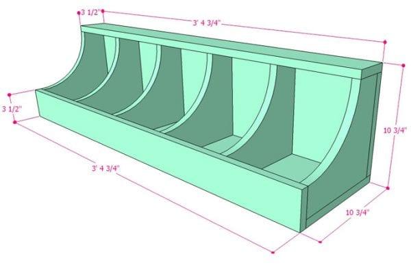 DIY Wall Shelf Building Plan Apieceofrainbow (7)