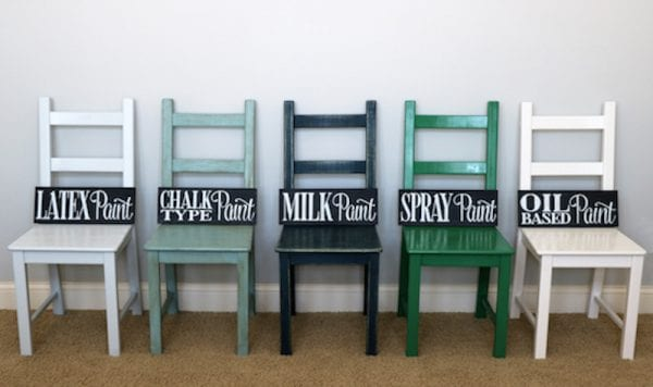 Different Painting Types For Furniture
