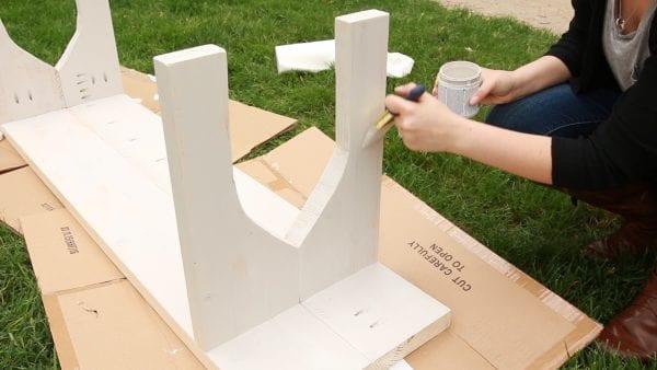 Easy Farmhouse Bench For Remodelaholic