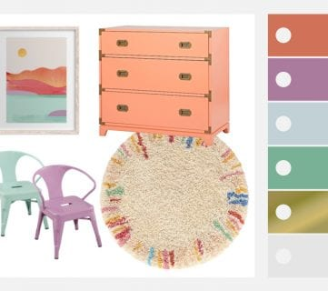 Colorful Girls Playroom Decor and Inspiration