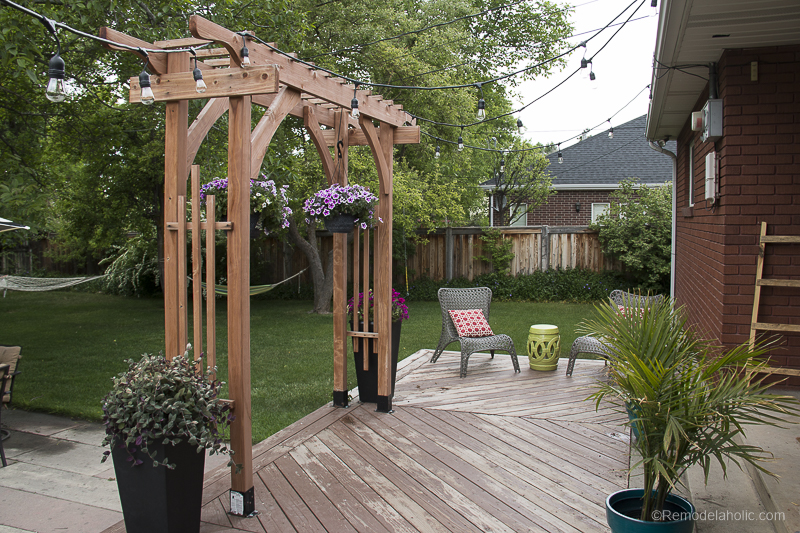 Remodelaholic 2x4 And More How To Build A Garden Arbor