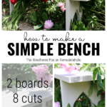 How To Make A Simple Bench By The Weathered Fox On Remodelaholic