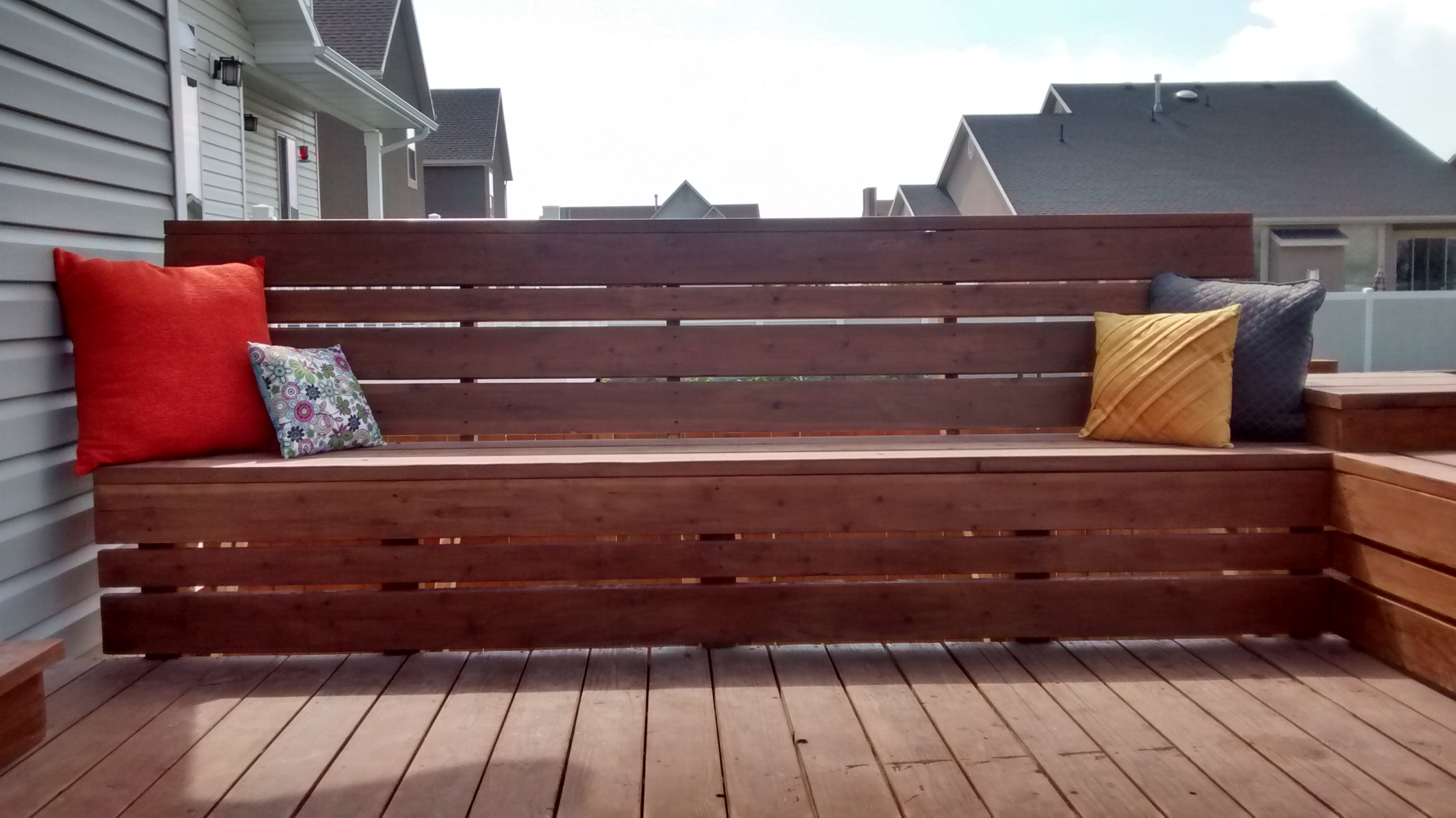 Albert Blog How To Build Space Saving Deck Benches For A
