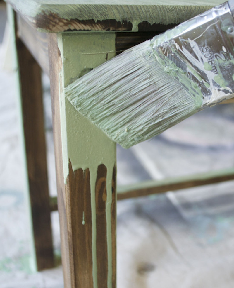 Unlock the secrets to painting furniture with this detailed step by step  tutorial of. Remodelaholic   Painting Furniture   Tips for Using 5 Different
