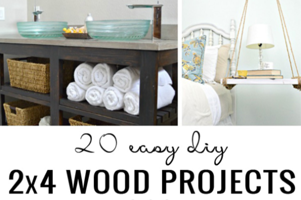 Simple 2x4 Wood Projects On Remodelaholic