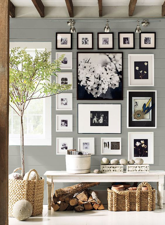 Wall Color Is Coventry Gray By Benjamin Moore