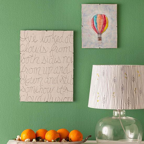 Script Word Art Via Better Homes & Gardens