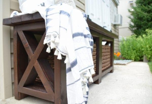 Build With 2x4s, Rustic X Bench, DIY Huntress
