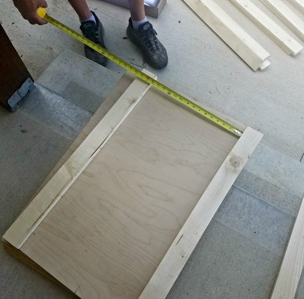 How To Build A Sliding Barn Door Console For Your Man Cave 10