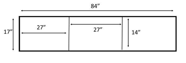 How To Build A Sliding Barn Door Console For Your Man Cave 16