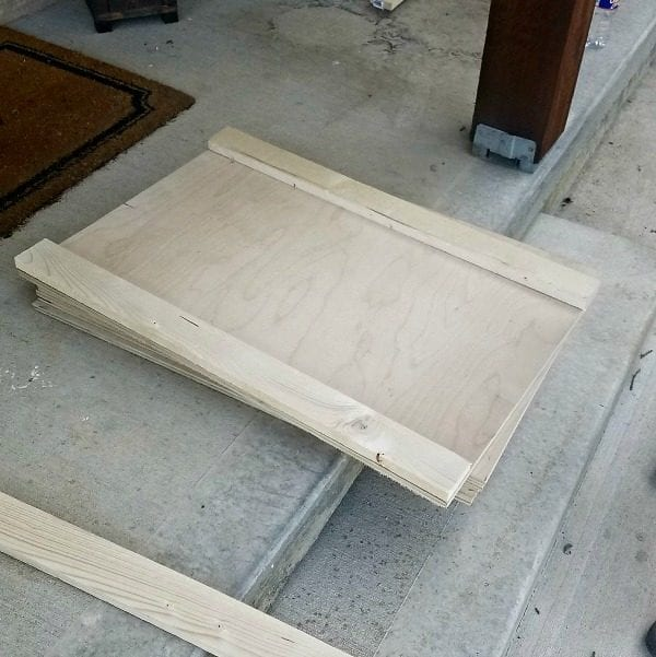 How To Build A Sliding Barn Door Console For Your Man Cave 9
