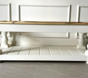 How To Build An Upholstered Bench 10