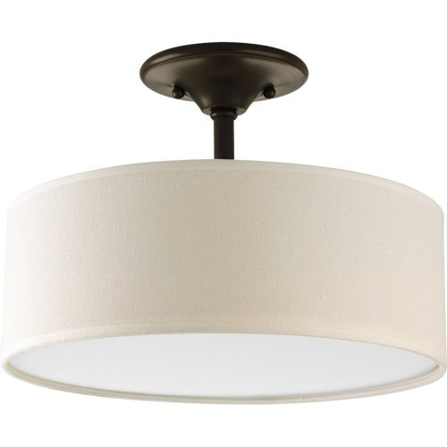 Semi Flushmount Light Fixture