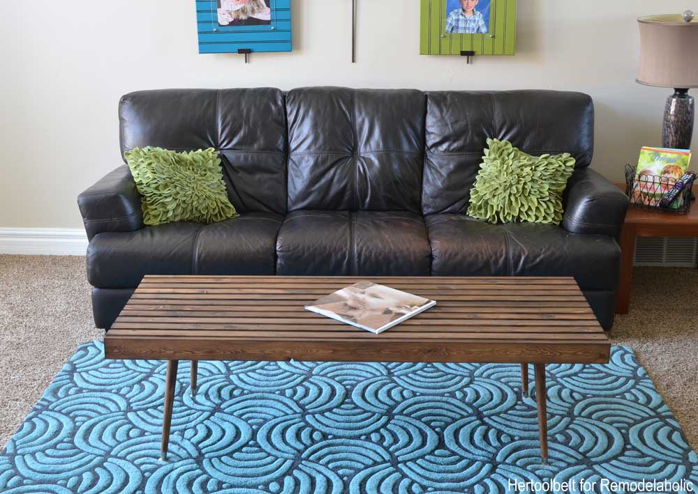Build An Easy Simple And Stylish Mcm Coffee Table With Free Plans
