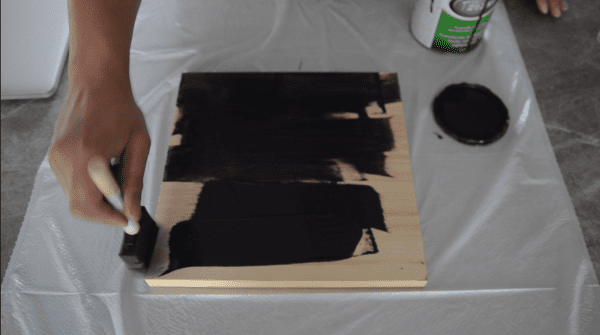 Diy Wooden Chalkboard Welcome Sign (1)
