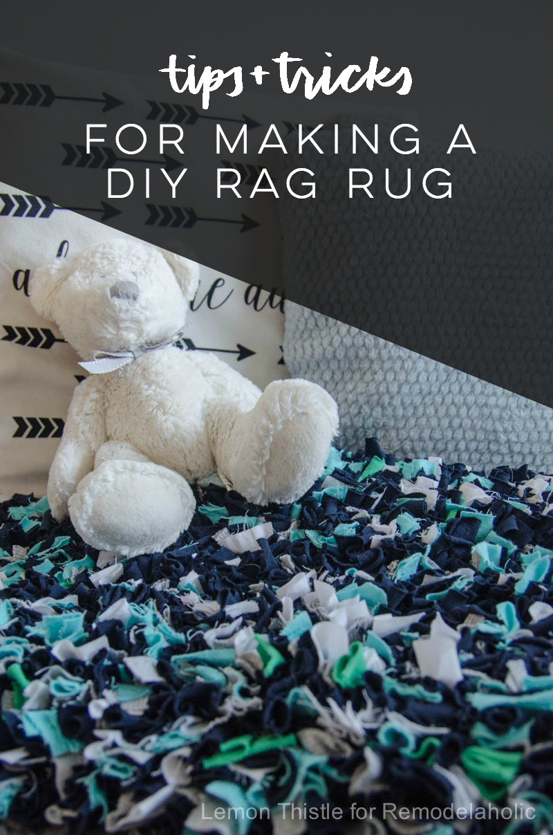 Tips and Tricks for making a DIY rag rug