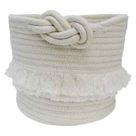 Girls Playroom Rope Basket