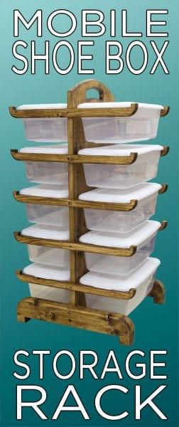 Pinterest Shoe Box Rack