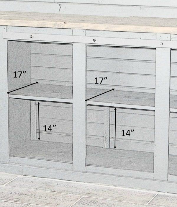 Sliding Barn Door Cleats With Measurements