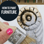 Tips For Painting Furniture With Different Types Of Paint @Remodelaholic