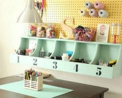 Wall Cubby Shelf @Remodelaholic