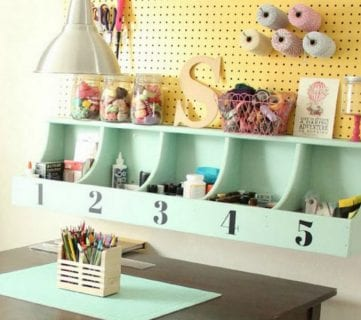 DIY Beautiful Wall Cubby Shelf – Free Building Plan