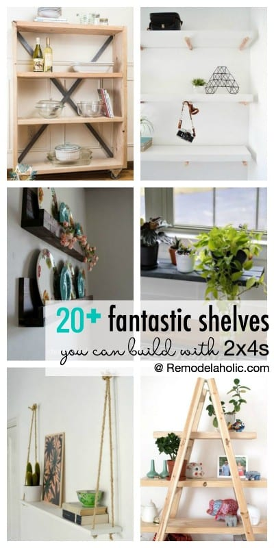 20+ Fantastic DIY 2×4 Shelving Ideas