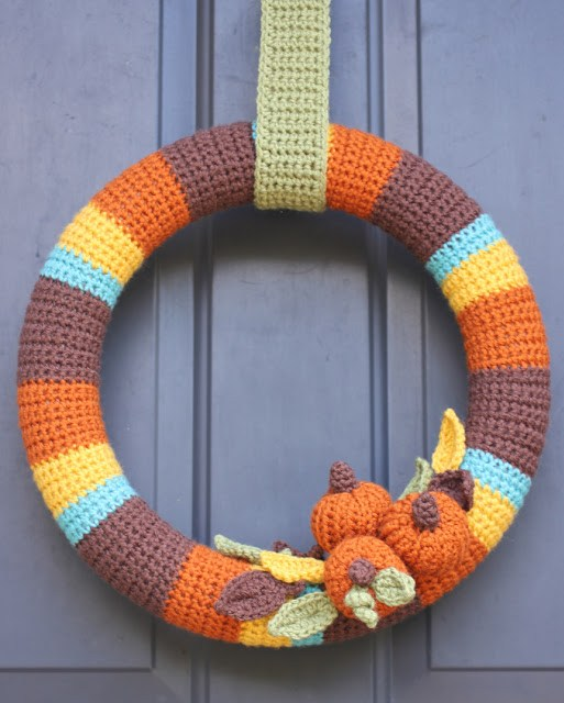 Crochet Wreath by Repeat Crafter Me