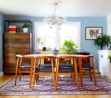 Friday Favorites: Modern Dining Room and Fall Wreath