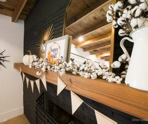 Fall Mantel Decor With Shaw Floors@Remodelaholic 48