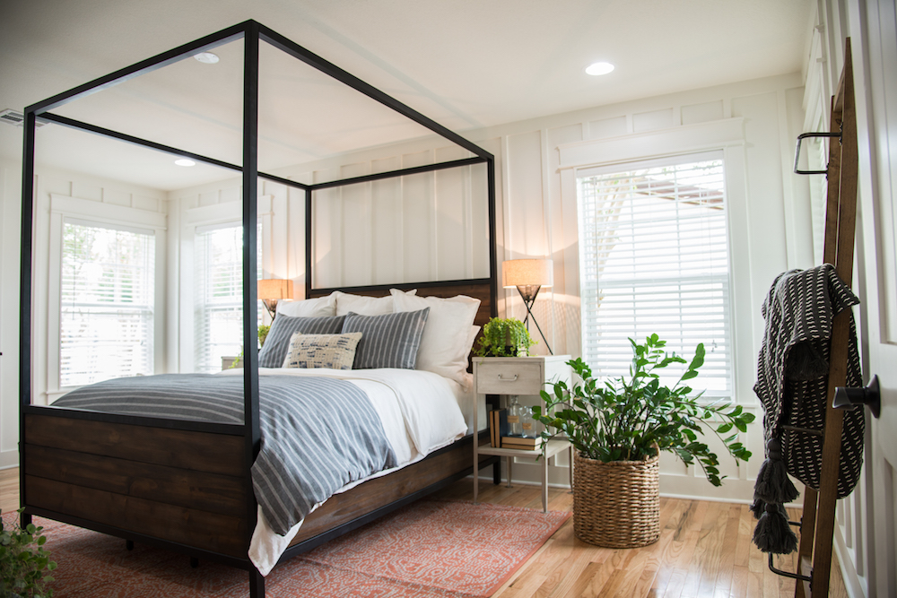 Remodelaholic Get This Look Fixer Upper Graham House Master Bedroom