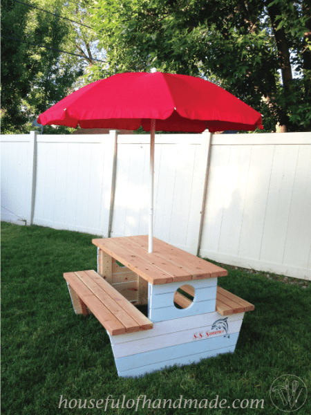 Picnic Table Finished 7