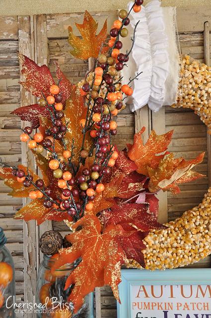 Popcorn Wreath by Cherished Bliss
