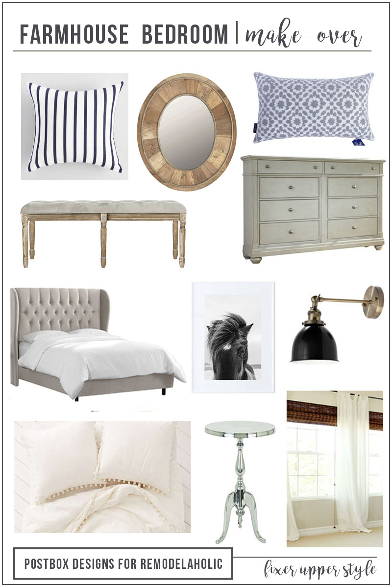 12 Items For A Perfect Fixer Upper Style Farmhouse Bedroom Decorating Tips And Affordable