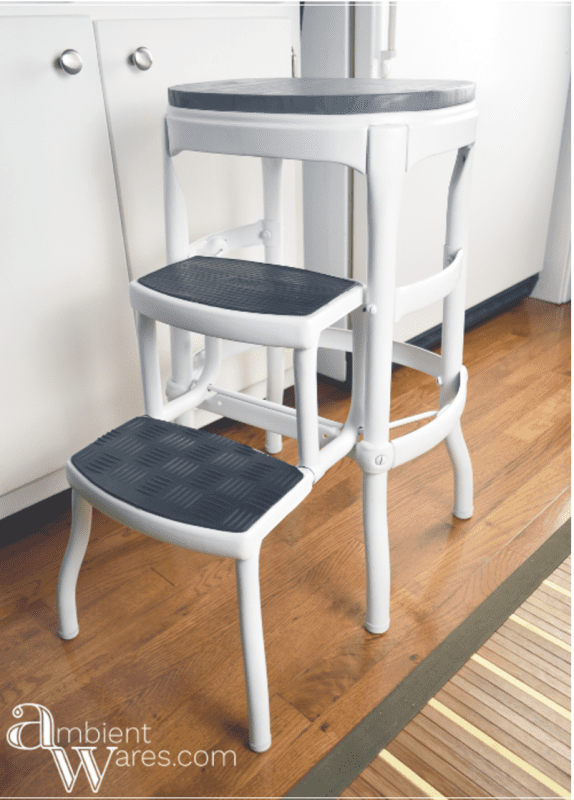 Vintage Costco Stool Makeover Ambient Wares