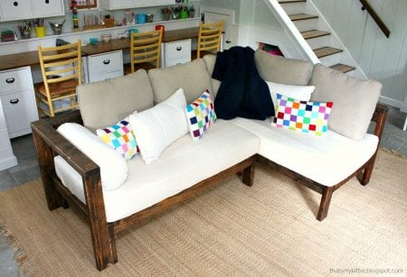 Crib Mattress Sectional Sofa 1
