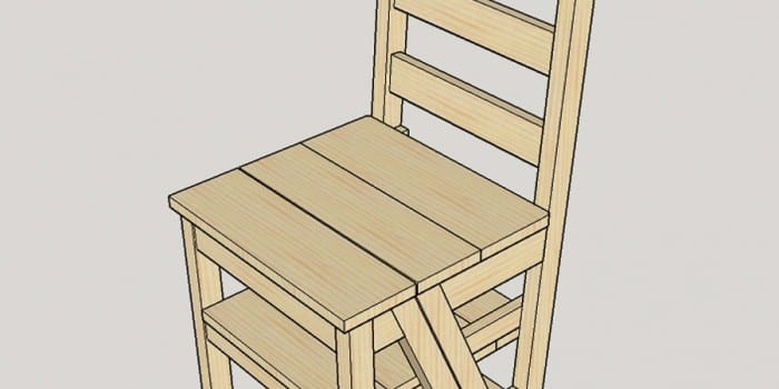 DIY Ladder Chair – A Modern Twist on an American Classic