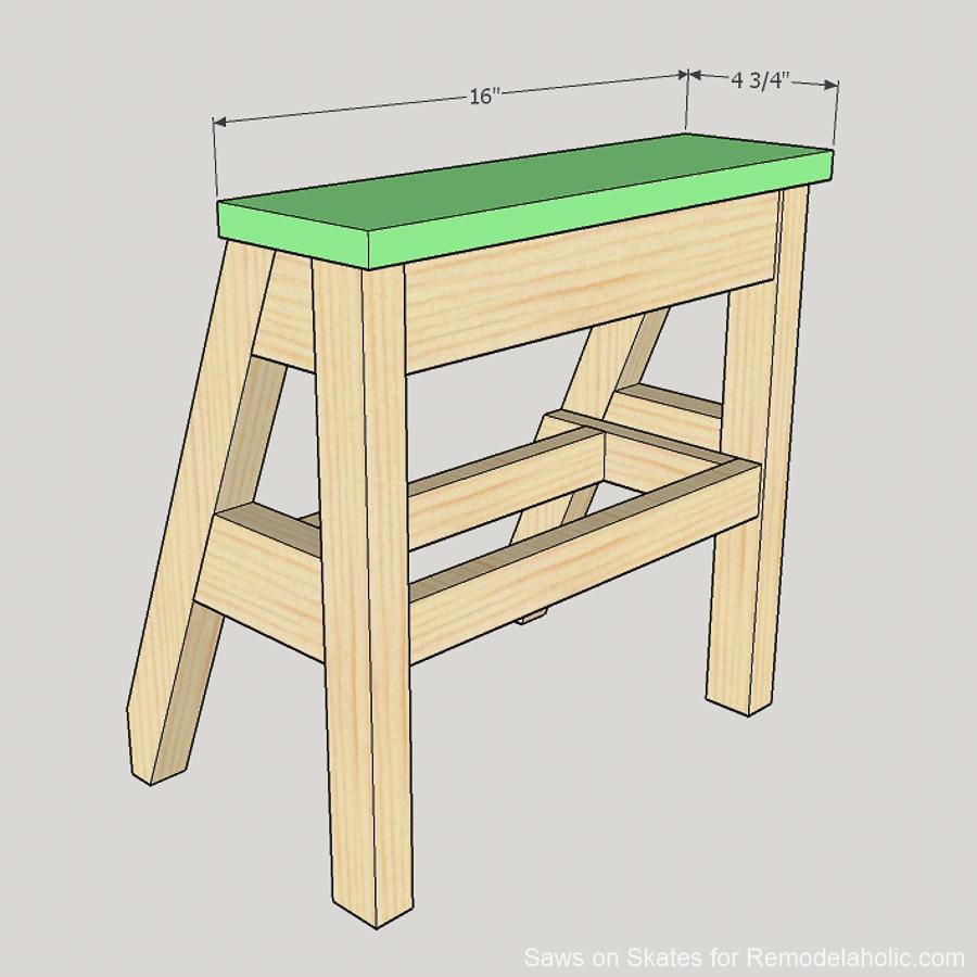 Diy Ladder Chair Sawsonskates 17