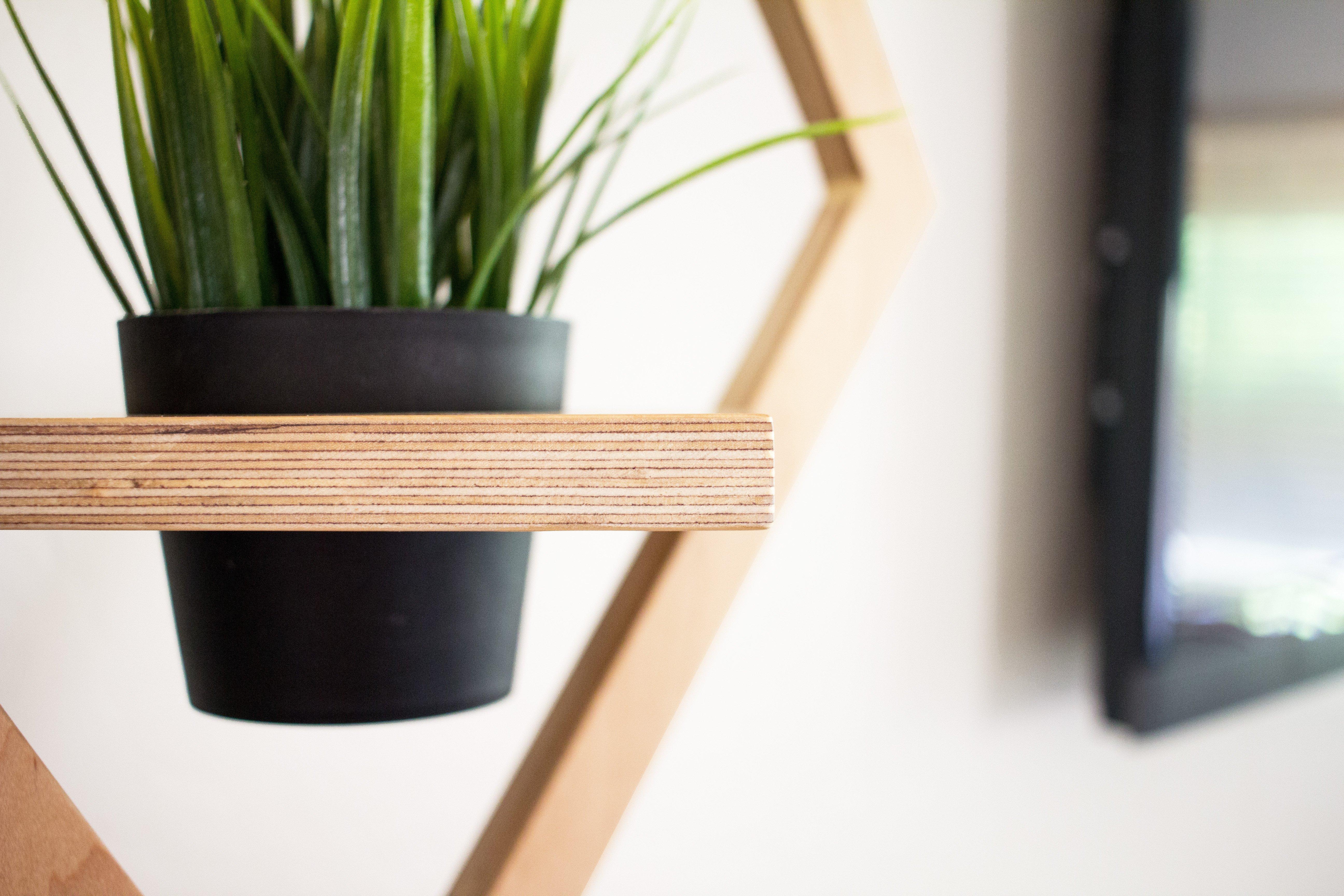 remodelaholic diy west elm modern hanging planter knock off