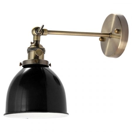 Farmhouse Bedroom 07 Swing Lamp Sconce