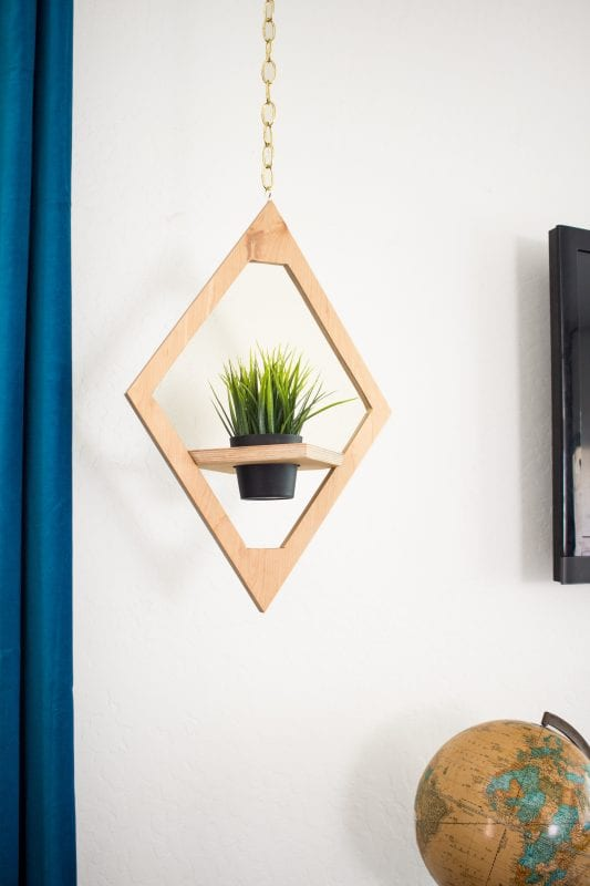 How To Build Plywood Hanging Planter
