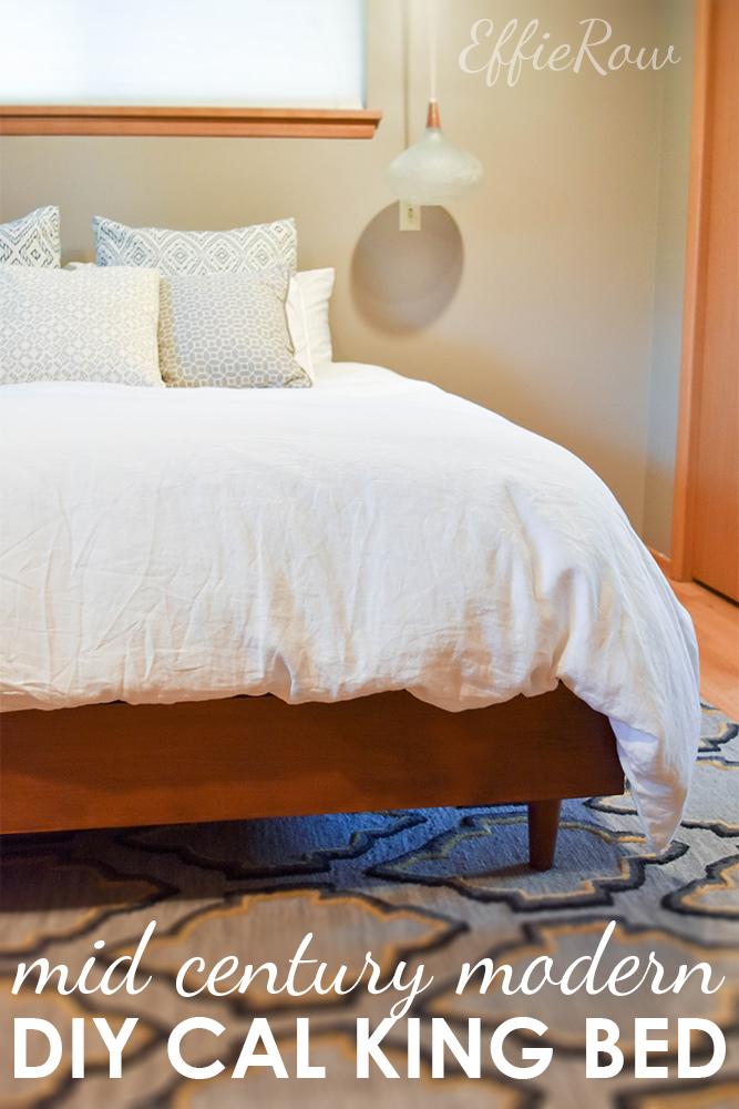 lennon mid century bed