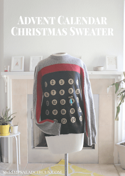 Advent Calendar Christmas Sweater Header