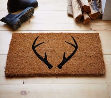 Antler Doormat