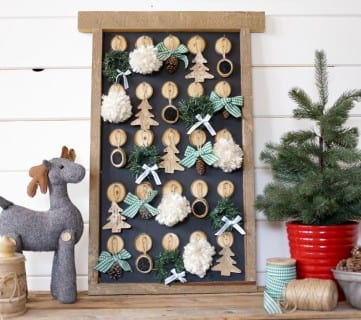 DIY Christmas Advent Calendar Featured Image | This Mamas Dance For Remodelaholic 2