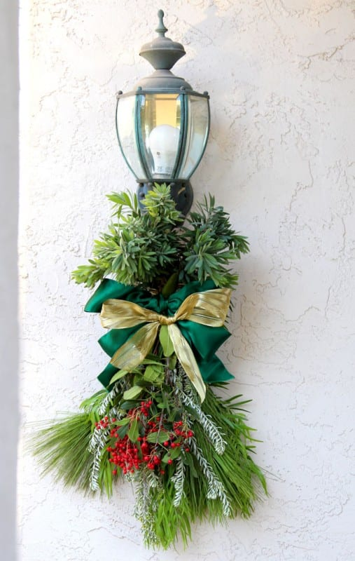 Remodelaholic Make A Gorgeous Fresh Evergreen Christmas