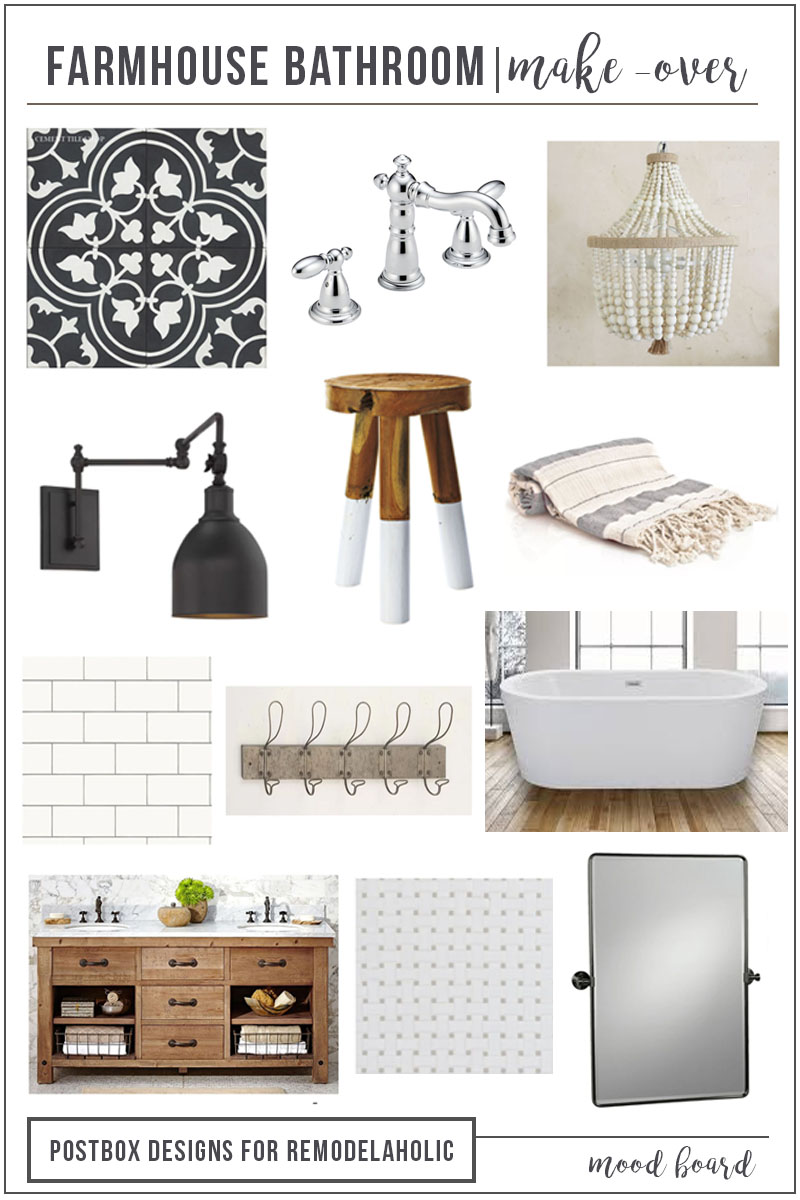 Remodelaholic Create A Timeless Farmhouse Bathroom That