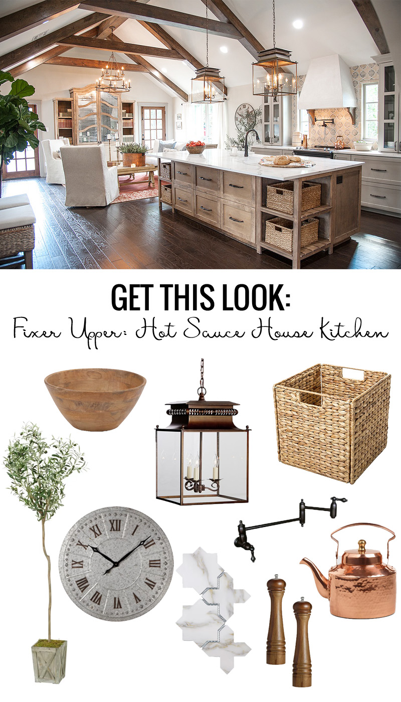Fixer Upper Hot Sauce House Kitchen