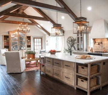 Get This Look: Fixer Upper Hot Sauce House Kitchen